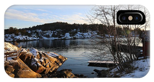Winter Day By The Oslo Fjords, Norway.  IPhone Case