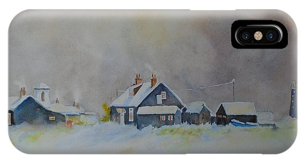 Winter Dungeness IPhone Case