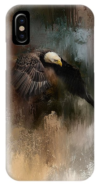 Winter Eagle 2 IPhone Case