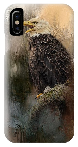 Winter Eagle 3 IPhone Case