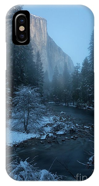 Winter El Cap  IPhone Case