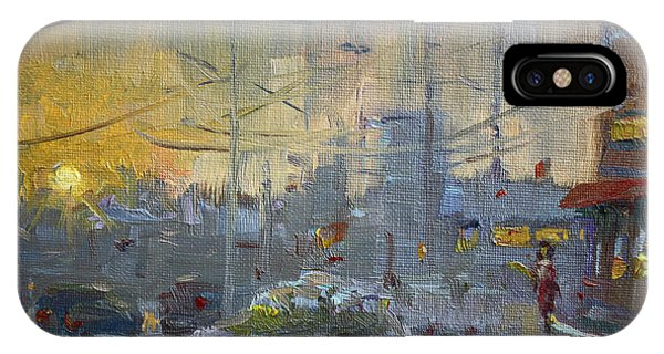 Cold iPhone Case - Winter End Of Day by Ylli Haruni