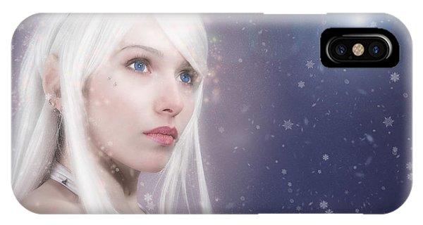 Winter Fae IPhone Case