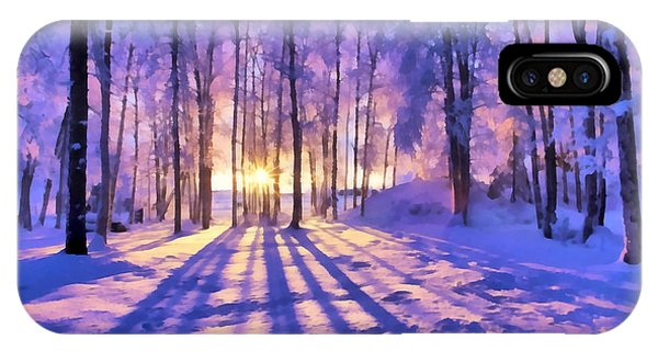 Winter Fairy Tale IPhone Case