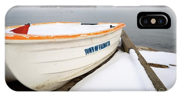 Winter, Falmouth, Maine  -18674 IPhone Case