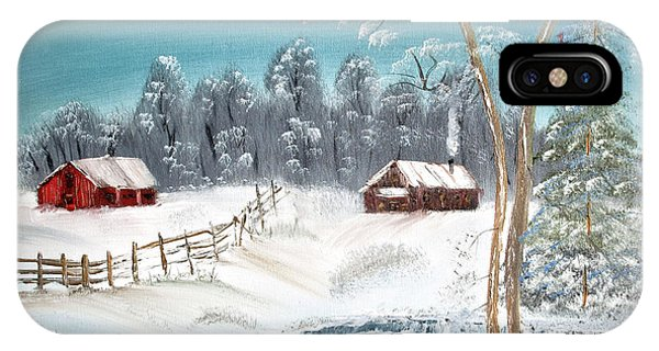 Winter Farm IPhone Case