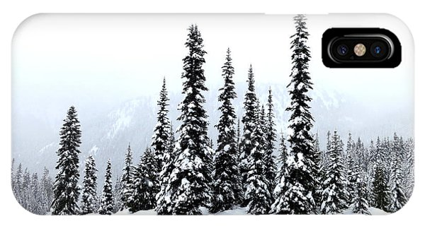 Winter Firs IPhone Case
