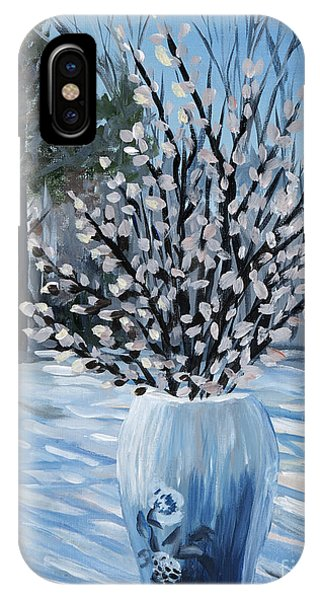 Winter Floral IPhone Case
