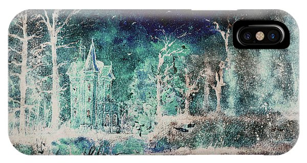 Winter Gatehouse IPhone Case