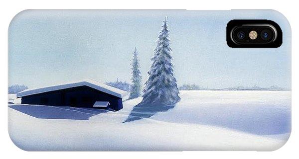 iPhone Case - Winter In Austria by Johannes Margreiter