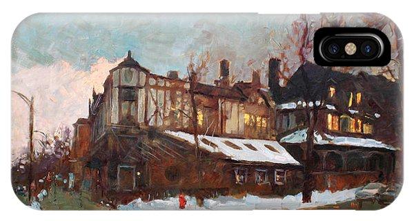 Avenue iPhone Case - Winter In Buffalo by Ylli Haruni