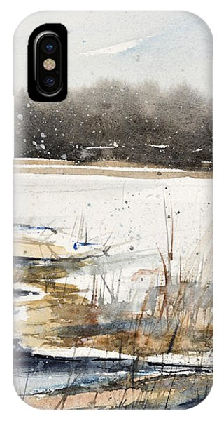 Winter In Caz IPhone Case