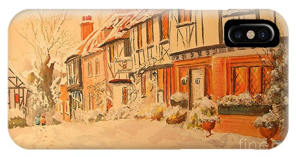 Winter In Chilham Kent IPhone Case