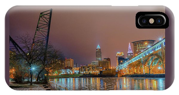 Winter In Cleveland, Ohio  IPhone Case