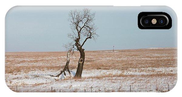 Winter In Kansas IPhone Case