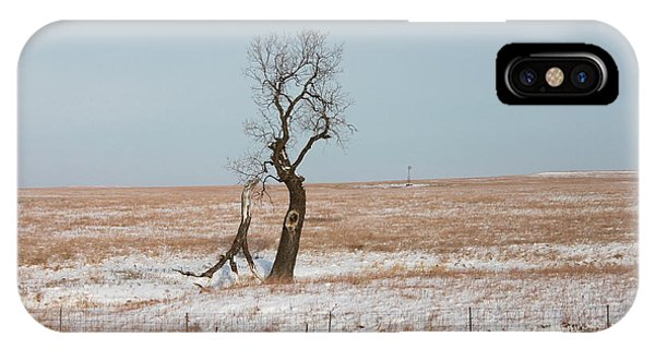 Winter In Kansas IPhone Case