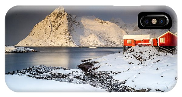 Winter In Lofoten IPhone Case