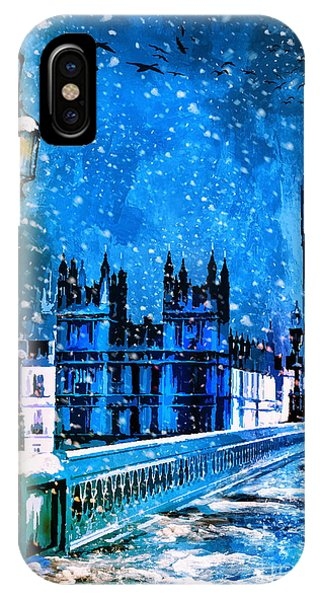 Winter In London  IPhone Case