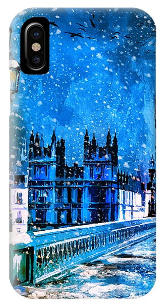 Winter In London  IPhone Case