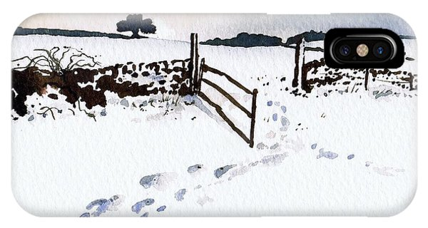 iPhone Case - Winter In Stainland by Paul Dene Marlor
