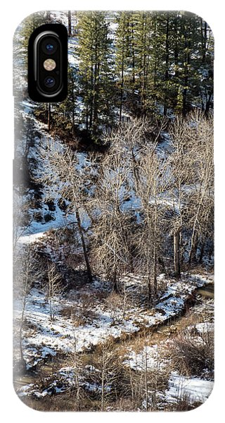 IPhone Case featuring the photograph Winter In The Susan River Canyon by The Couso Collection