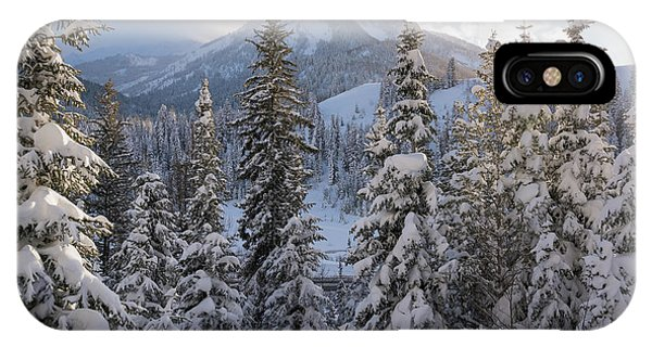 Winter In The Wasatch IPhone Case