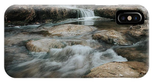 Winter Inthe Falls IPhone Case