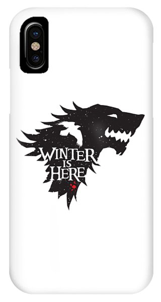 Of iPhone Case - Winter Is Here by Edward Draganski