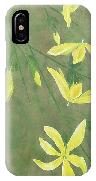 Winter Jasmine IPhone Case