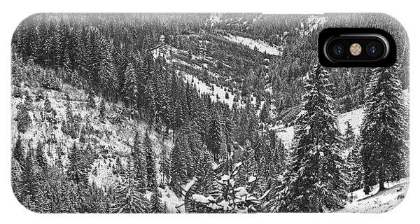 Winter Landscape In Giurgeu Mountains Phone Case by Gabriela Insuratelu