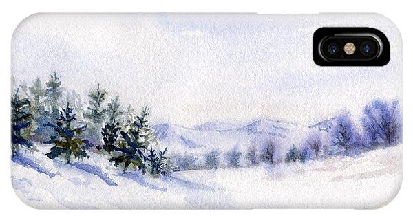 Winter Landscape Snow Scene IPhone Case