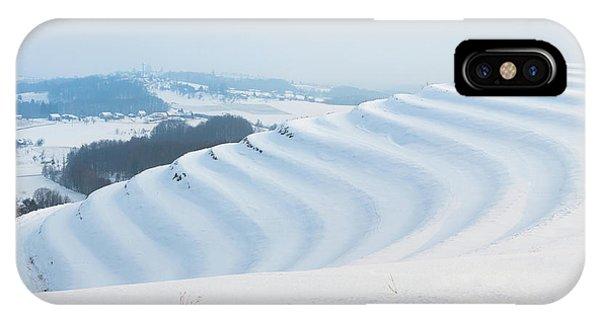 Winter Lines IPhone Case