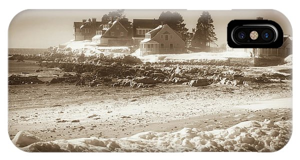 Winter - Lord's Point - Kennebunk IPhone Case