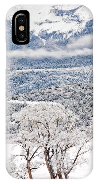 IPhone Case featuring the photograph Winter Magic by Denise Bush