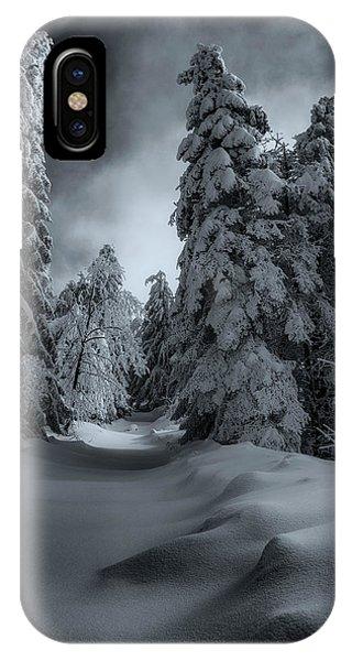 Winter Mood 27/02/2018 IPhone Case