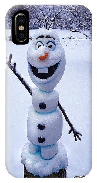 Winter Olaf IPhone Case