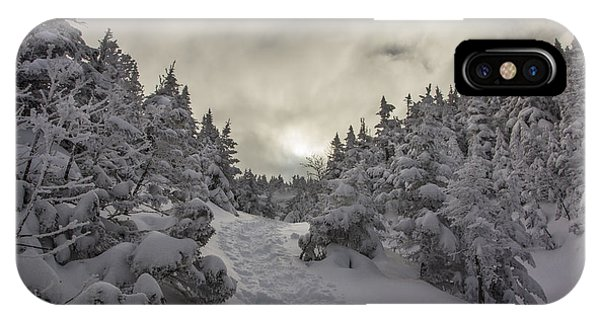 Winter On The Ammo Trail IPhone Case