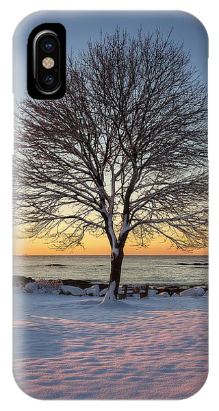 Winter On The Coast IPhone Case