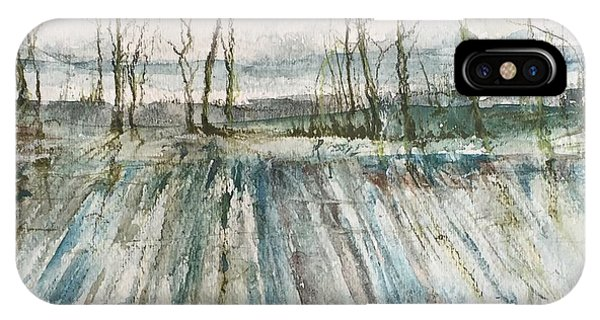 Winter On The Delta IPhone Case
