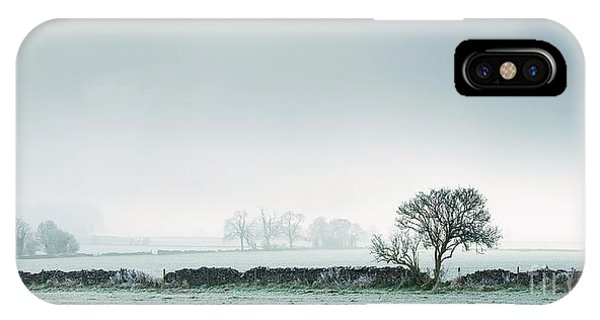 Winter On The Mendips IPhone Case