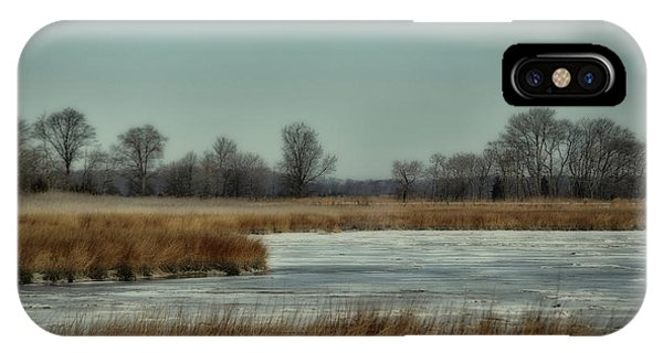 Winter On The Water IPhone Case