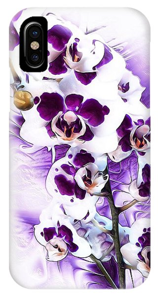 Winter Orchid IPhone Case