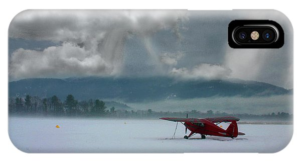 Winter Plane IPhone Case