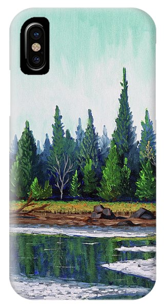 Winter Pond IPhone Case