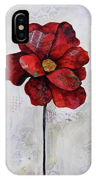 Wintry iPhone Case - Winter Poppy II by Shadia Derbyshire