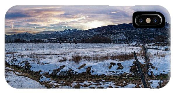 Sunset Range IPhone Case