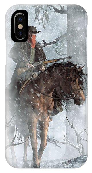 Winter Rider IPhone Case