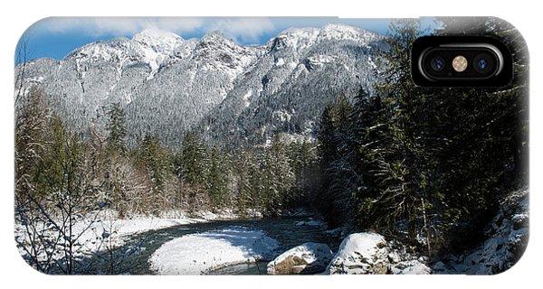 Winter River IPhone Case