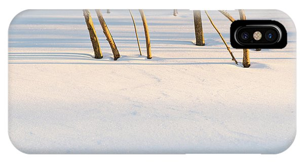 Winter Scene - Abstract IPhone Case