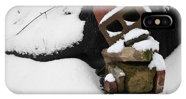 IPhone Case featuring the photograph Winter Sculpture by Dylan Punke